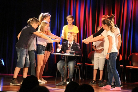 Sommerworkshop Kinderland 2018 Foto Theater Nienburg